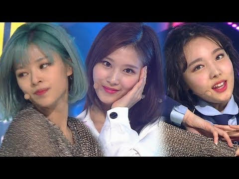 《ADORABLE》 TWICE트와이스 - What is Love? @인기가요 Inkigayo 20180429