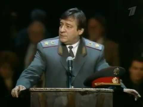 Красная шапочка Хазанов. Про милицию старое.