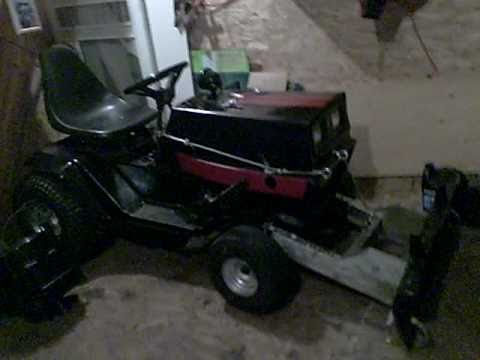 Garden Plow For Lawn Mower Homemade Lawn Mower Snow Plow