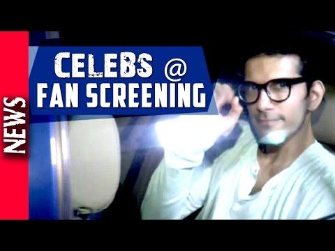 Latest Bollywood News - Fan Special Screening- Bollywood Gossip 2016