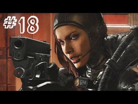 Resident Evil Revelations Gameplay Walkthrough Part 18 - All on the Line - Campaign Episode 8
