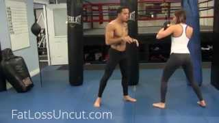 Training for MMA (Mixed Martial Arts): MMA Striking Drill