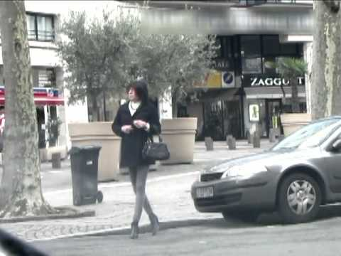Another day in public - Transvestite - Crossdresser