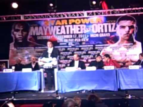 Richard Schaefer Predicts Mayweather Will Meet His Match On Sept 17 video