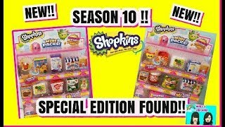 NEW!! SHOPKINS SEASON 10 MINI PACKS UNBOXING| FOUND SPECIAL EDITION KOOKY COOKIE IS BACK!!