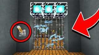 How to Build a WORKING ELECTRIC DOOR in Minecraft! (NO MODS!)