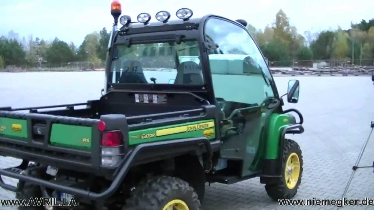 John Deere Gator >> Gator XUV 855D Diesel 4x4 John Deere from Moline Illinois with Coffee holder - YouTube