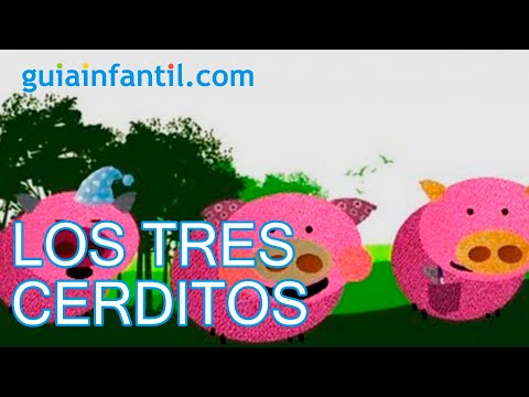 Tradicional cuento corto infantil de los tres cerditos y el lobo, pero con final feliz, como nos gusta a nosotros. Un bonito cuento que ense&Atilde;&plusmn;a que no hay que...