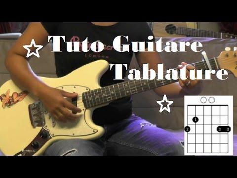 Comment Jouer Françis Cabrel L'encre De Tes Yeuxi ★Tuto Guitare Tab ★