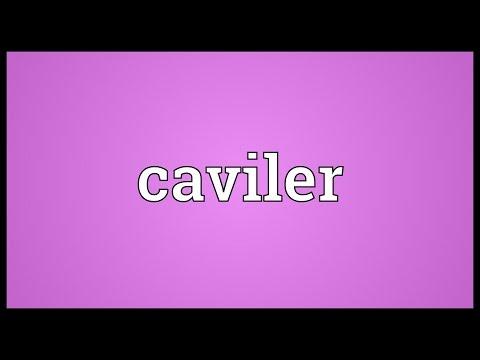 Header of caviler