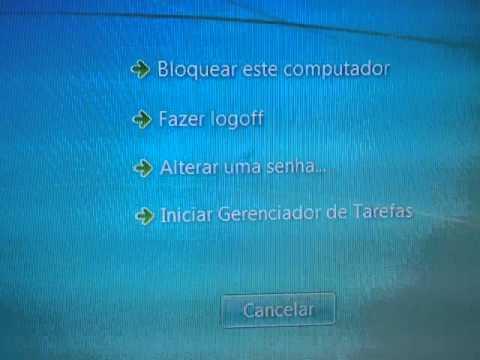 COMO AJEITAR TELA PRETA DO COMPUTADOR