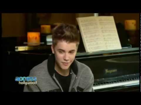 Justin Bieber calls Selena - my girlfriend- in a interview on Novemer 2011 [UMG].wmv