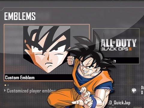 Bo2 Emblem Attack Goku