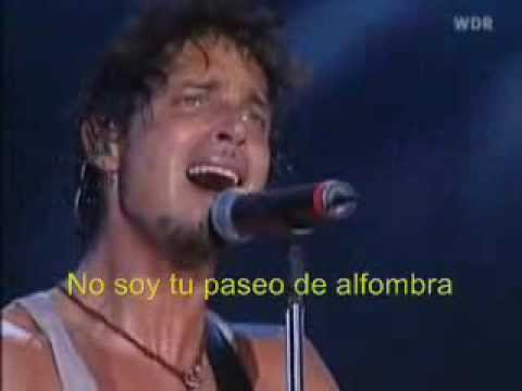 Audioslave-  I Am The Highway  (subtitulos)