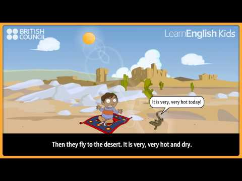 Ali and the magic carpet - Kids Stories - LearnEnglish Kids British Council