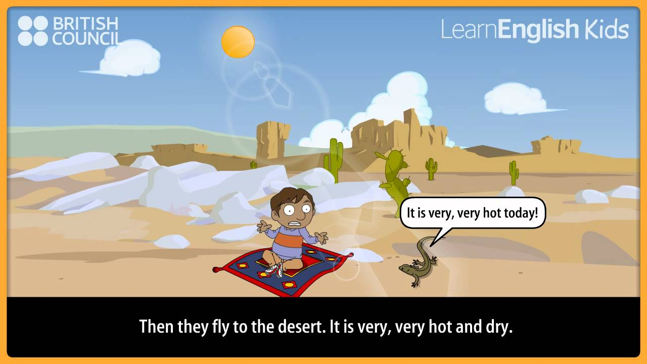 Free Worksheets r worksheets : Ali and the magic carpet - Kids Stories - LearnEnglish ...