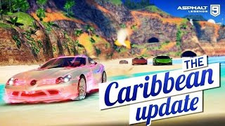 Asphalt 9 Legends - Caribbean Map Update Gameplay