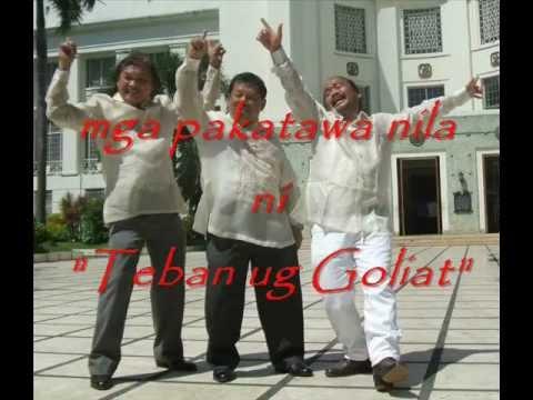 Mga Pakatawa nila ni Teban ug Goliat Part 2