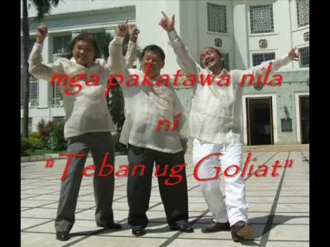 Mga Pakatawa Nila Ni Teban Ug Goliat Part 2 video