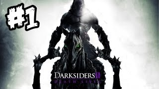 Darksiders 2 Gameplay Walkthrough - Part 1 - DEATH CALLS YOU!! (Xbox 360/PS3/PC Gameplay)