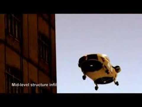 Bell/Urban X-Hawk VTOL aircraft