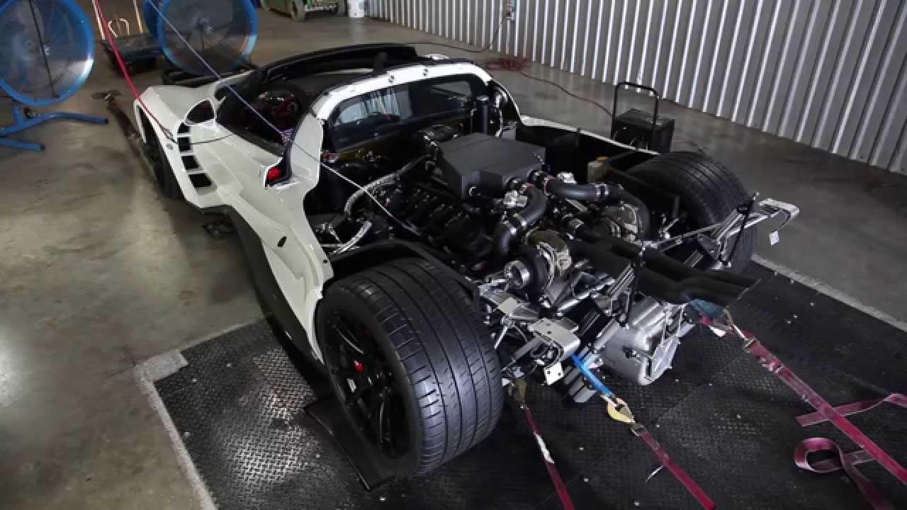Venom GT Shoots Fire on Dyno - YouTube