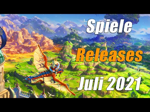 Spiele Releases im Juli 2021 | Für PC, PS5, PS4, Xbox One, Xbox Series X, Switch