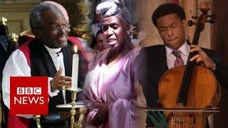 Black culture at the royal wedding - BBC News