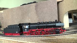 HO scale TRIX BR 50 1013 with Faulhaber motor.