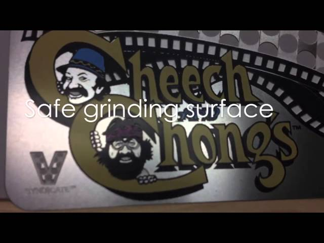 SmokazonTV - The V Syndicate Grinder Card - Cheech &amp; Chong Next Movie Grinder Overview