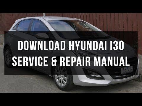 Hyundai i30 Workshop Owners Manual - Free Download