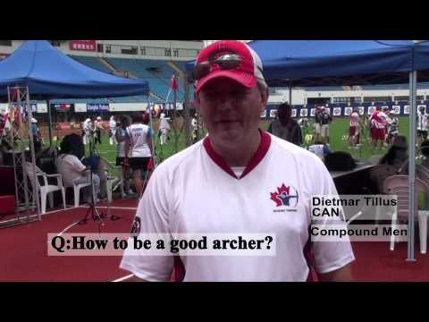 Archery Fan Reporter - Day 2 / World Cup 2010 - Stage 4 Video