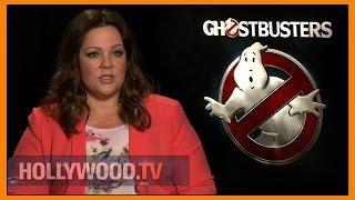 Melissa McCarthy talks Ghostbusters - Hollywood TV