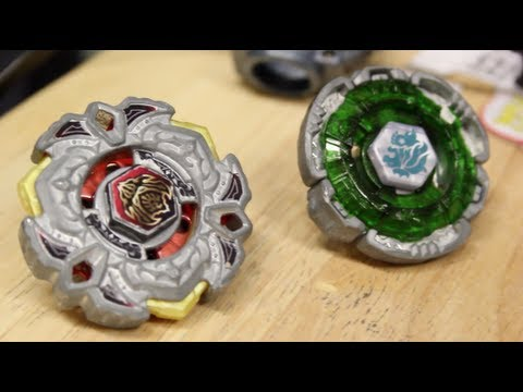 Battle: Fang Leone 130w²d Vs Variares D:d - Beyblade Metal 4d Fury video