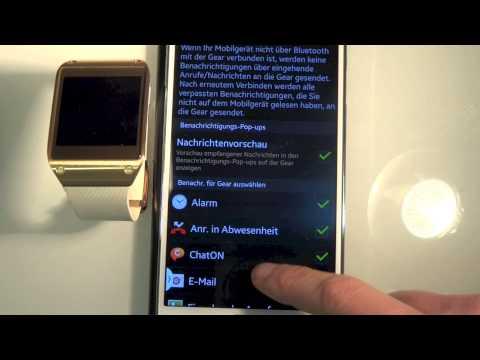 Samsung Gear Firmware Update WhatsApp, Messenger, GMail