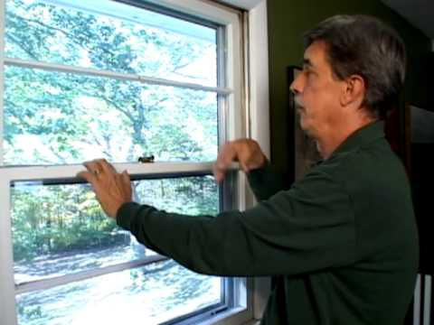 How to install window weatherstripping youtube for Window weather stripping