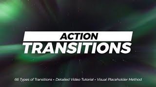 Action Transitions ▶▷Premiere Pro Trends◁◀