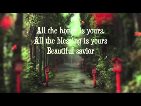 One Sonic Society - Beautiful Savior With Lyrics video