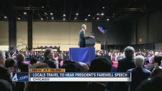 President Barack Obama says goodbye