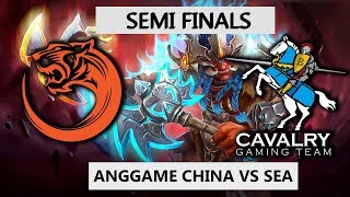 SEA DOTO VS CHINA DOTO! - TNC TIGERS VS CAVALRY BO3 - ANG GAME SEA #2 SEMI FINALS