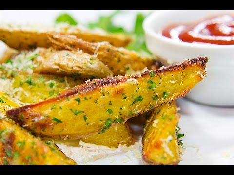 Запеченный в духовке картофель со специями | Картофель по селянски