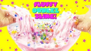 GIANT FLUFFY SLIME With ORBEEZ! Hidden Toy Surprises Inside Slime