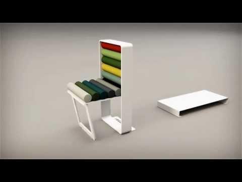 Colourbox seduta by ZATOO DESIGNSTUDIO