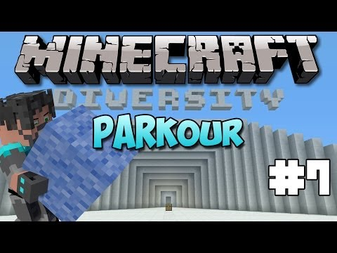 Minecraft : Diversity W  Thinknoodles - Ep. 7 - Parkour Isn't So Bad.... video
