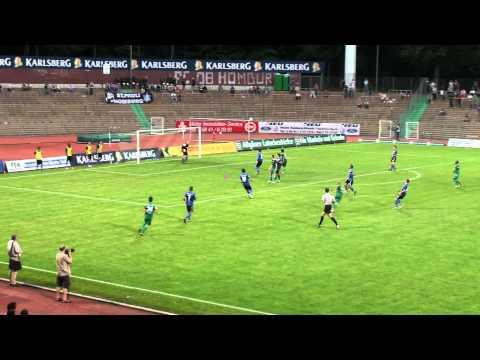 Höhepunkte und Impressionen der Regionalliga Südwest-Partie des 3. Spieltags (Saison 2012/2013) zwischen unserem FC 08 Homburg und SV Eintracht Trier 05 am 14.8.2012 (Tore: 1:0 Aleksandre...