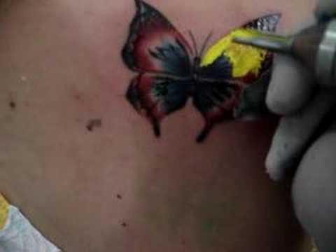 Tatuagem 2: Borboleta