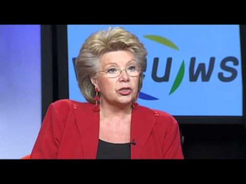 viEUws : Commissioner Viviane Reding on women in the boardroom