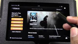 Kindle Fire HD Video Tutorials