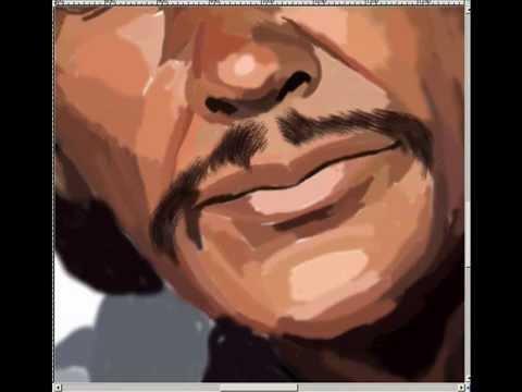 Charles Bronson - speed painting