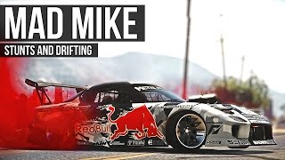 GTA 5 - Mad Mike RX-7 Stunts and Drifting Montage